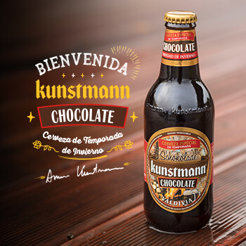 Chocolate Hops, Malts and Cocoa: We celebrate Return of our Kunstmann Chocolate