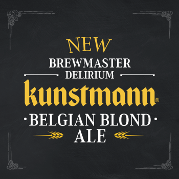 From Belgian School, new BrewMaster Delirium: BELGIAN BLOND ALE