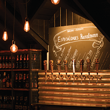 Kunstmann Kneipe Bariloche: First beer bar inaugurated in Argentine